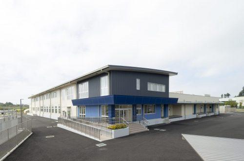 水戸市立学校給食共同調理場改築工事